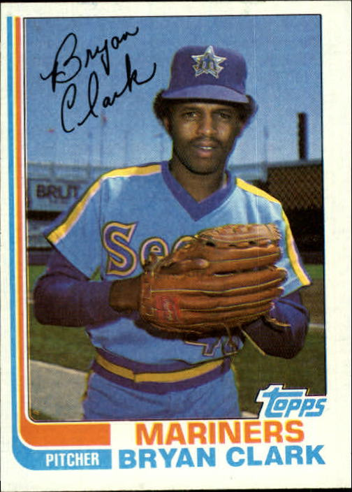 1982 Topps #632 Bryan Clark RC