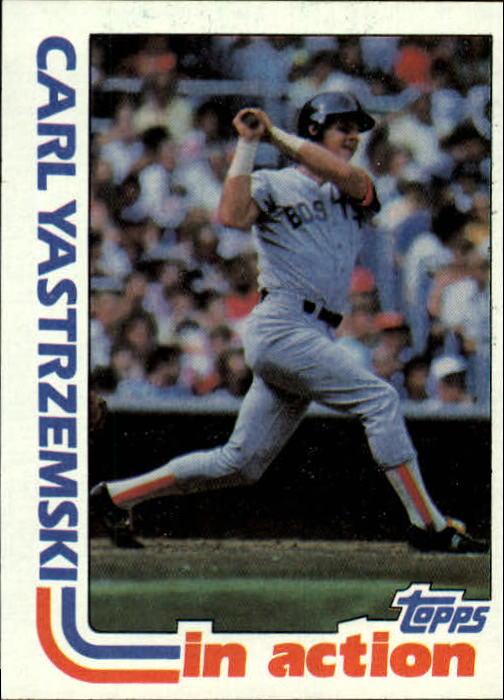 1982 Topps #651 Carl Yastrzemski IA
