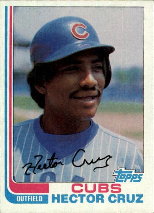 1982 Topps #663 Hector Cruz