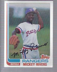 1982 Topps #704 Mickey Rivers