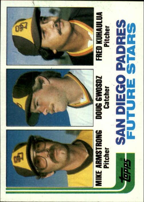 1982 Topps #731 Mike Armstrong/Doug Gwosdz RC/Fred Kuhaulua