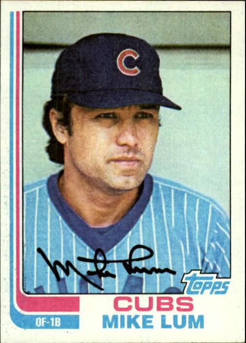 1982 Topps #732 Mike Lum