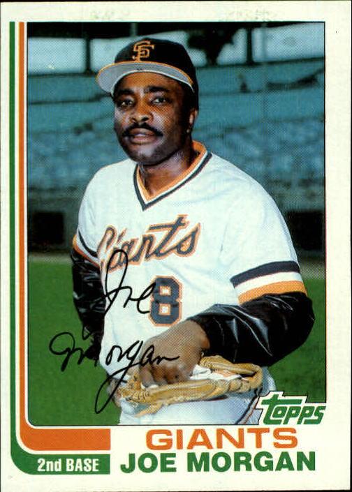 1982 Topps #754 Joe Morgan