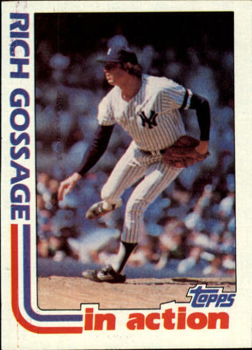 1982 Topps #771 Rich Gossage IA