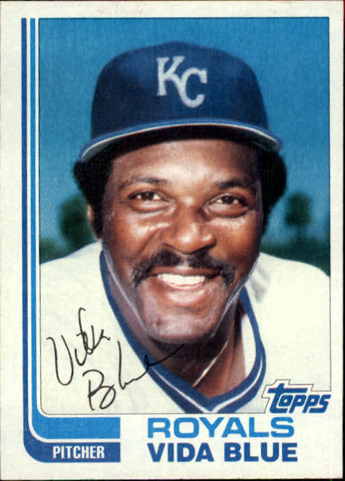 1982 Topps Traded #8T Vida Blue