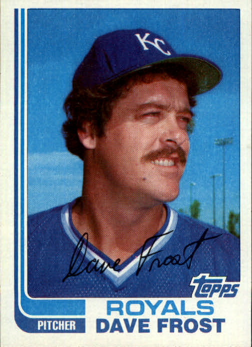 1982 Topps Traded #37T Dave Frost