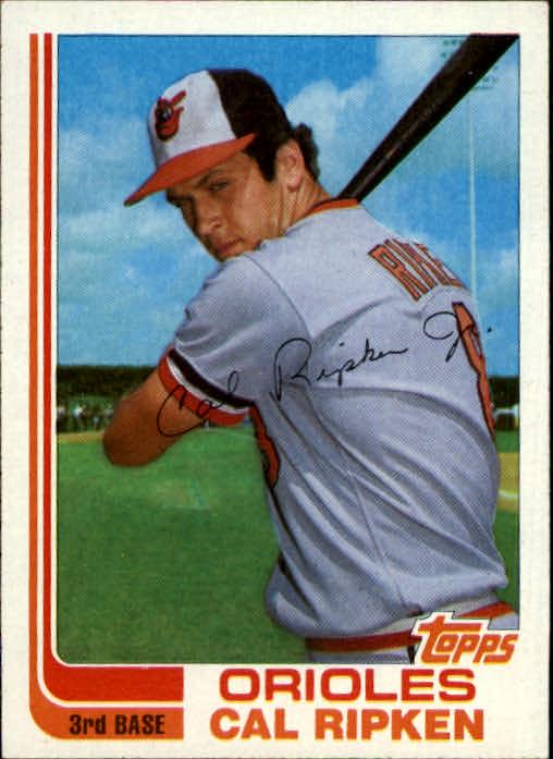 1982 Topps Traded #98T Cal Ripken