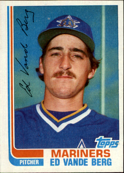 1982 Topps Traded #122T Ed VandeBerg