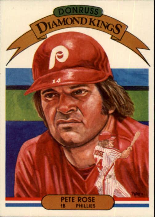 1982 Donruss #1 Pete Rose DK