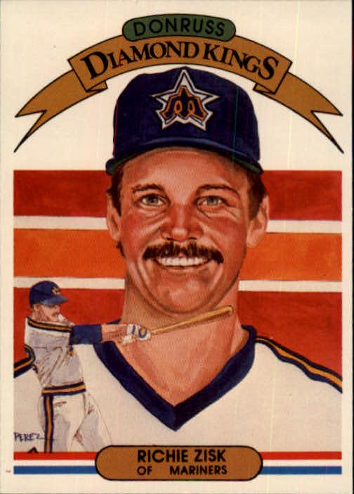 1982 Donruss #11 Richie Zisk DK