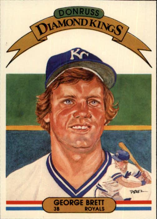 1982 Donruss #15 George Brett DK