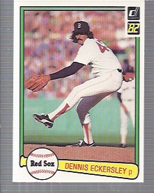 1982 Donruss #30 Dennis Eckersley