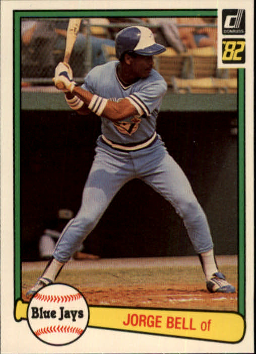 1982 Donruss #54 George Bell RC