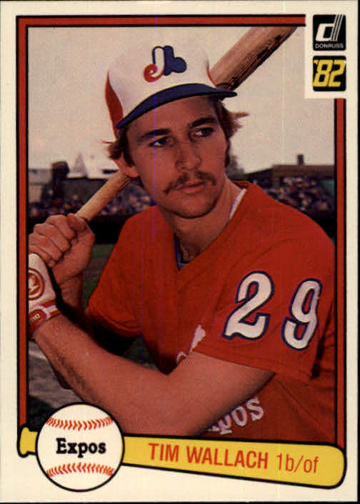 1982 Donruss #140 Tim Wallach RC