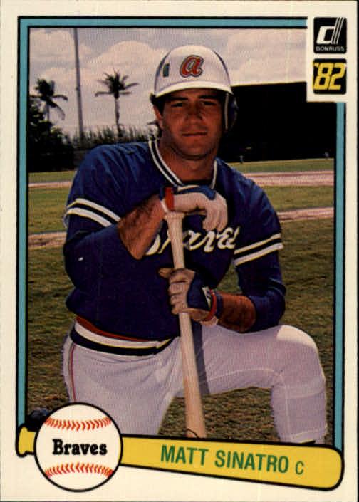 1982 Donruss #149 Matt Sinatro