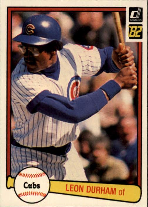 1982 Donruss #151 Leon Durham