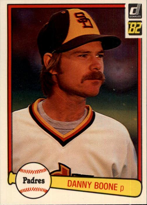 1982 Donruss #187 Danny Boone