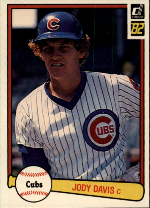 1982 Donruss #225 Jody Davis