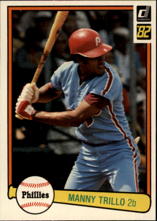 1982 Donruss #245 Manny Trillo