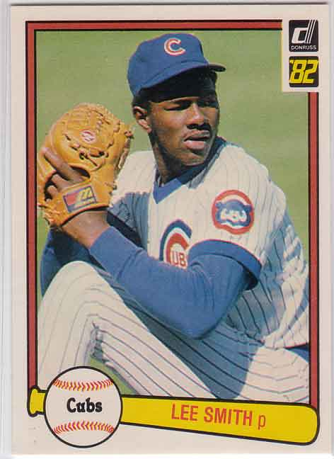 1982 Donruss #252 Lee Smith RC