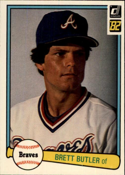1982 Donruss #275 Brett Butler RC