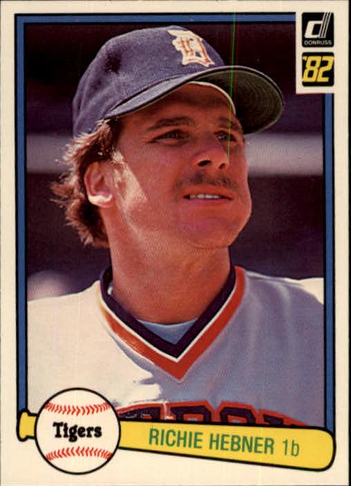1982 Donruss #328 Richie Hebner