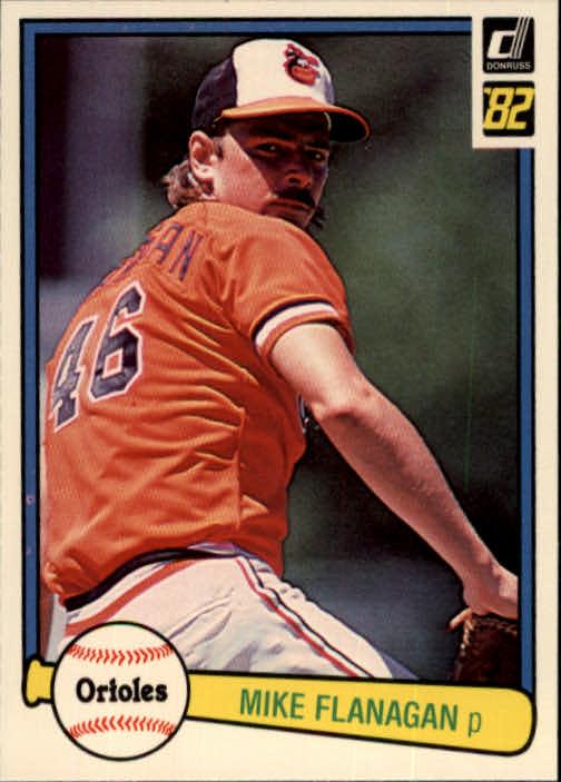 1982 Donruss #329 Mike Flanagan