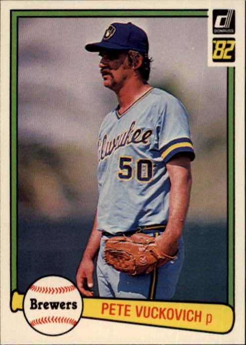 1982 Donruss #458 Pete Vuckovich
