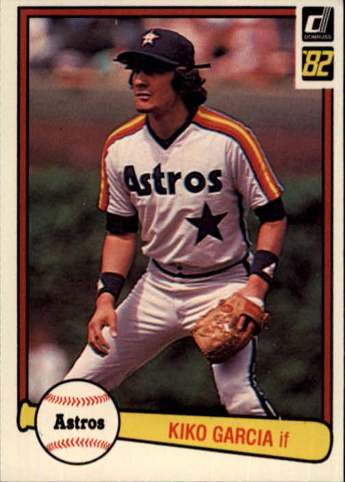 1982 Donruss #470 Kiko Garcia
