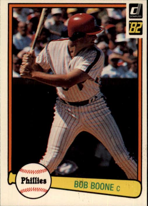 1982 Donruss #471 Bob Boone