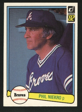 1982 Donruss #475 Phil Niekro