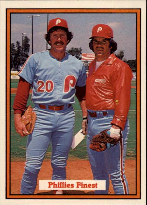 1982 Donruss #585 Phillies Finest/Pete Rose/Mike Schmidt