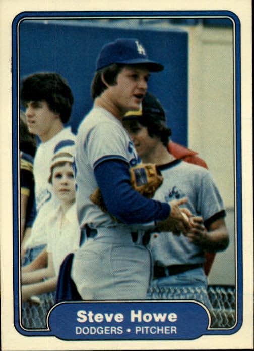 1982 Fleer #9 Steve Howe