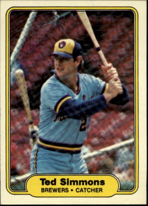 1982 Fleer #152 Ted Simmons