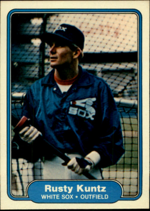 1982 Fleer #348 Rusty Kuntz