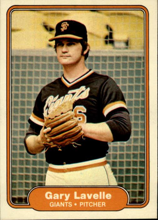 1982 Fleer #392 Gary Lavelle