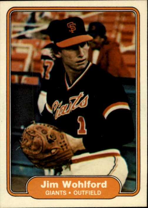 1982 Fleer #403 Jim Wohlford
