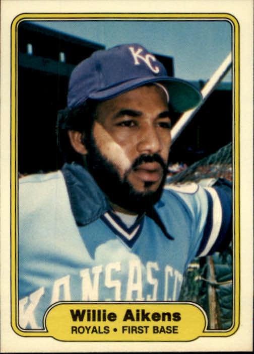 1982 Fleer #404 Willie Aikens