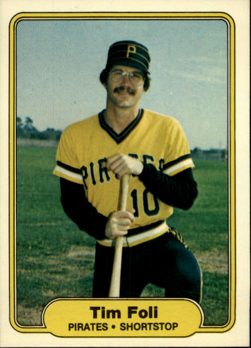 1982 Fleer #482 Tim Foli