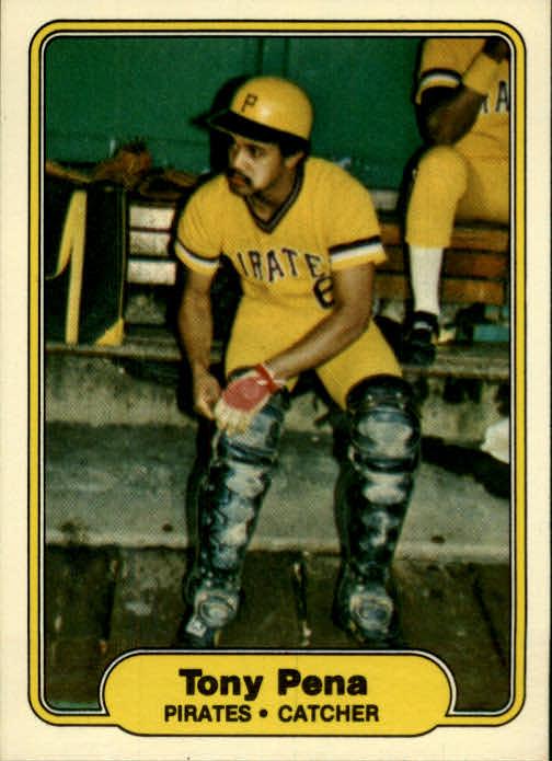 1982 Fleer #490 Tony Pena