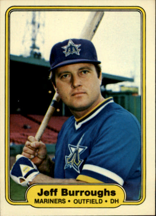 1982 Fleer #506 Jeff Burroughs