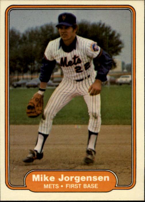 1982 Fleer #529 Mike Jorgensen