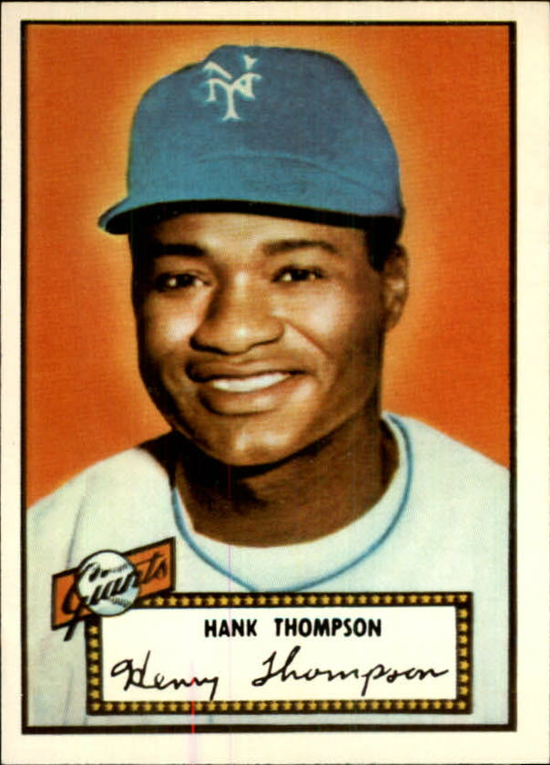 1983 Topps 1952 Reprint #3 Hank Thompson