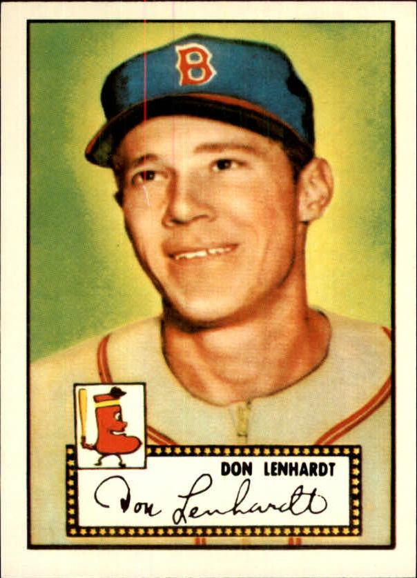 1983 Topps 1952 Reprint #4 Don Lenhardt