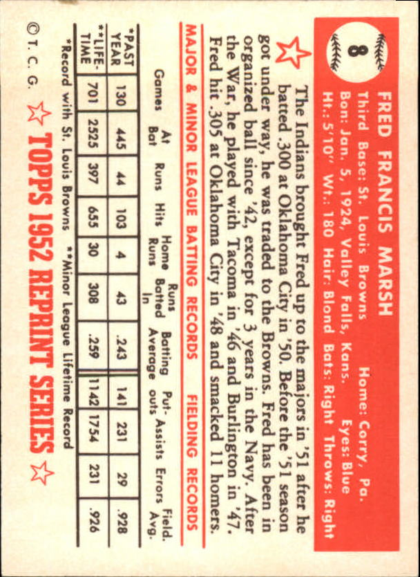 1983-Topps-1952-Reprint-BB-Card-039-s-1-250-You-Pick-Buy-10-cards-FREE-SHIP thumbnail 9