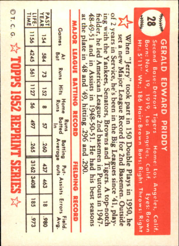 1983-Topps-1952-Reprint-BB-Card-039-s-1-250-You-Pick-Buy-10-cards-FREE-SHIP thumbnail 39