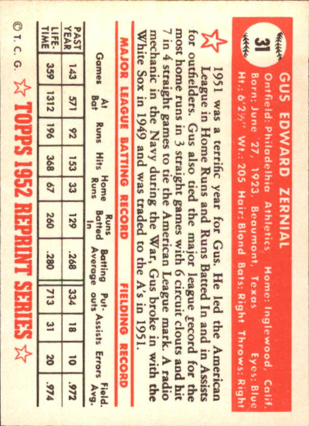 1983-Topps-1952-Reprint-BB-Card-039-s-1-250-You-Pick-Buy-10-cards-FREE-SHIP thumbnail 45