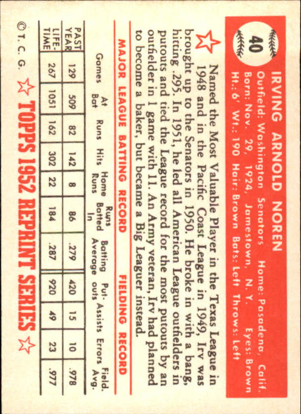 1983-Topps-1952-Reprint-BB-Card-039-s-1-250-You-Pick-Buy-10-cards-FREE-SHIP thumbnail 57