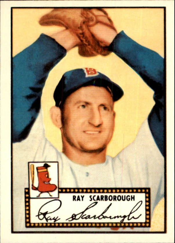 1983 Topps 1952 Reprint #43 Ray Scarborough