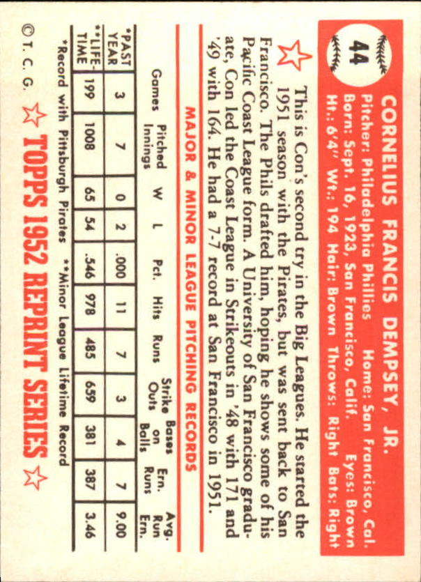 1983-Topps-1952-Reprint-BB-Card-039-s-1-250-You-Pick-Buy-10-cards-FREE-SHIP thumbnail 63